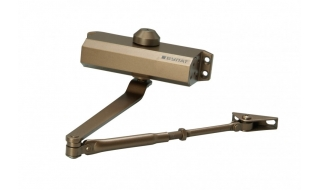 Доводчик дверной БУЛАТ ДД 504/5 A-C коричневый