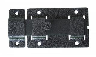Задвижка СЕКРЕТ-КИРОВ ЗД 02  серебро прямоугольный ригель (скин-упак.)