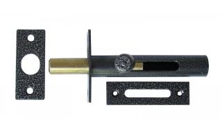 Задвижка СЕКРЕТ-КИРОВ ЗД 05  серебро врезная (скин-упак.)