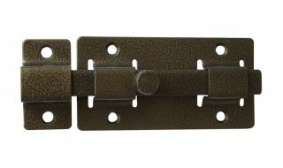 Задвижка СЕКРЕТ-КИРОВ ЗД 06  бронза квадратный ригель (скин-упак.)