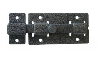 Задвижка СЕКРЕТ-КИРОВ ЗД 06  серебро квадратный ригель (скин-упак.)